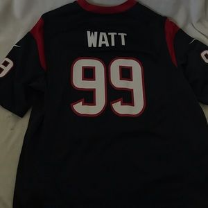 jj watt houston texans jersey size large